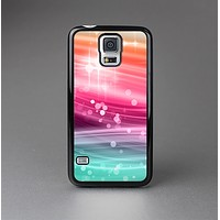 The Vibrant Multicolored Abstract Swirls Skin-Sert Case for the Samsung Galaxy S5