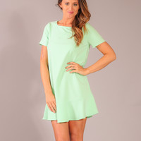 Enchanted Looks Dress - Mint