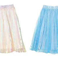 IRIDESCENT SUMMER SKIRT - INU INU