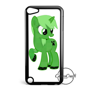Minecraft  Creeper Ponyfied iPod Touch 5 Case
