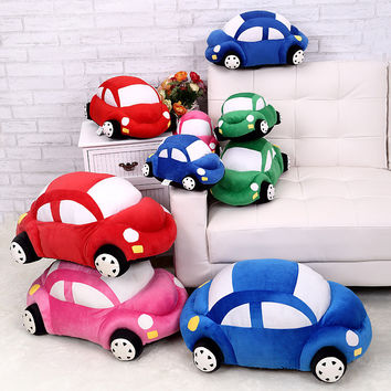 2015 cushion Plush toys custom image doll pillow steam car model children toy cushions sofa chair decorative pillows home decor