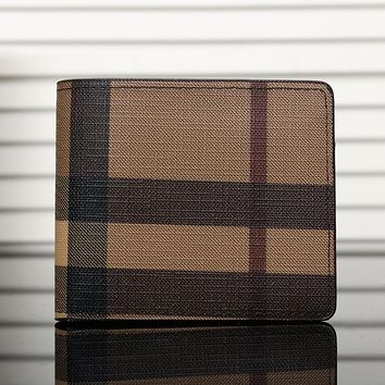 Boys & Men Burberry Men Leather Purse Wallet
