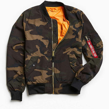 Alpha Industries L-2B Scout Bomber Jacket - Urban Outfitters
