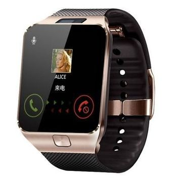 GSM Phone Smart Phone with Camera Bluetooth Wrist Watch SIM Card Smartwatch for IOS&Android [9210701827]