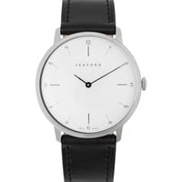 Sekford - Type 1A Stainless Steel and Leather Watch | MR PORTER