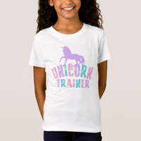 Cute Girls Unicorn TShirt