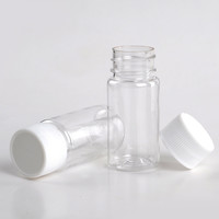 5 Pieces/Lot 25ML Portable Plastic Pill Box Medicine Case For Healthy Care Empty Pill Holders