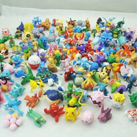 24PCS HOT Brand New Cute Lovely Lots 2-3cm Pokemon Mini Random Pearl ct Figures (Color: Multicolored) [8098017863]