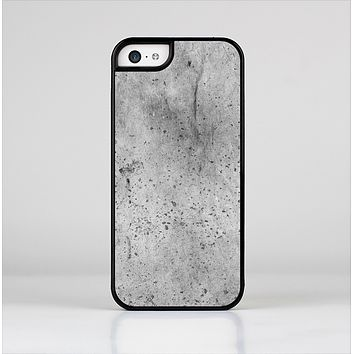 The Concrete Grunge Texture Skin-Sert for the Apple iPhone 5c Skin-Sert Case