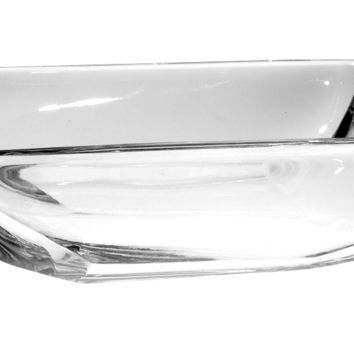 "Majestic Gifts 28122-6 Crystal SOAP DISH, 6""L"