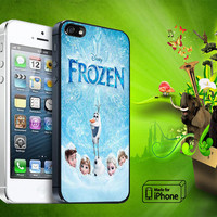 Snow Disney Frozen Samsung Galaxy S3/ S4 case, iPhone 4/4S / 5/ 5s/ 5c case, iPod Touch 4 / 5 case