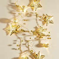 Interior De-Shine String Lights in Gold | Mod Retro Vintage Decor Accessories | ModCloth.com