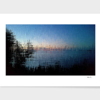 «Superior Dawn» Art Print by David Manlove - Numbered Edition from $24.9 | Curioos