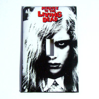 Light Switch Cover - Light Switch Plate Night of the Living Dead Zombie