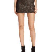 AQUAA-Line Metallic Skort