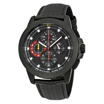 Michael Kors Ryker Chronograph Black Dial Mens Watch MK8521