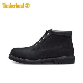 LMF8KY Timberland Rhubarb Boots Mid-high Shoes Black Waterproof Martin Boots