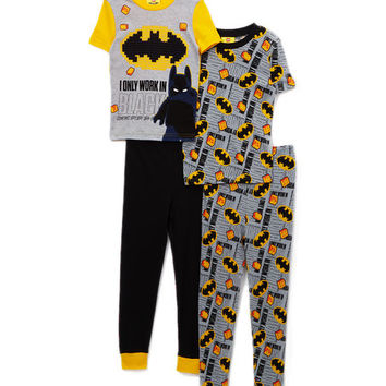 LEGO Batman Movie 'I Only Work in Black' Pajama Set - Boys