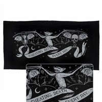 Cheating Death Large Fabric Banner Patch