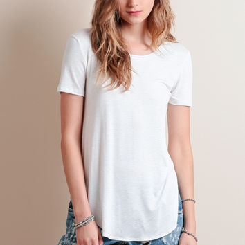 Get Used To It Tee In White