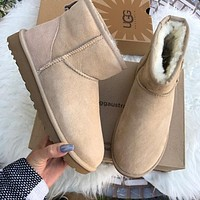 UGG AUTHENTIC CLASSIC MINI SAND BOOTS