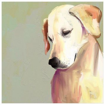 Best Friend - Yellow Lab Wall Art