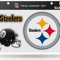 NFL Pittsburgh Steelers Team Magnet Set