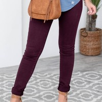 Gloria Plum Chic Denim Jeans