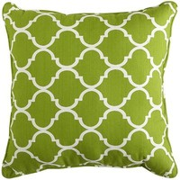 Cabana Geometric Pillow - Citrus