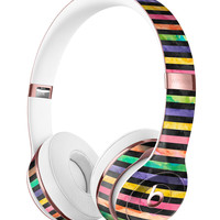 Halloween Color Stripes Full-Body Skin Kit for the Beats by Dre Solo 3 Wireless Headphones