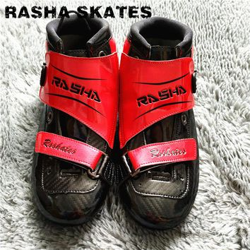 Professional Racing Speed Skate Shoes Adults/Child Race Skates Boots Advancedc Top Level Men Women inline speed skates shoes