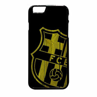 Barcelona FC Wood iPhone 6 Plus Case