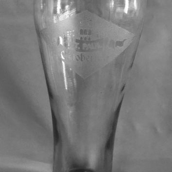 Oktoberfest Pilsner Beer Glass 15 Oz - Wedding Party Groomsmen Father's Day Gifts - Custom Engraved Drinkware Glassware Barware Etched for Free