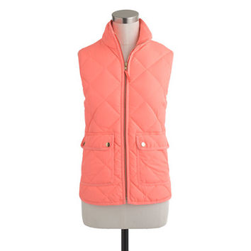 J.Crew Womens Excursion Quilted Vest