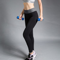 Black High Stretch Sports Leggings for Women