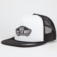 Vans Classic Patch Mens Trucker Hat Black/White One Size For Men 25788412501