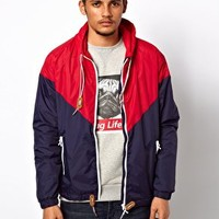 Criminal Damage Windbreaker Jacket at asos.com