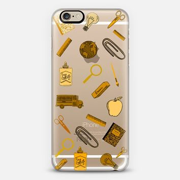 Back to school 1 iPhone 6 case by Yasmina Baggili | Casetify