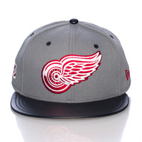 DETROIT RED WINGS NHL SNAPBACK CAP - Grey - NEW ERA