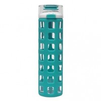 Ello Syndicate 20-oz Glass Water Bottle with Flip Lid