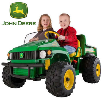 PEG PEREGO John Deere 12v Gator Truck - £495.95 : Kids Electric Cars, Little Cars for Little People