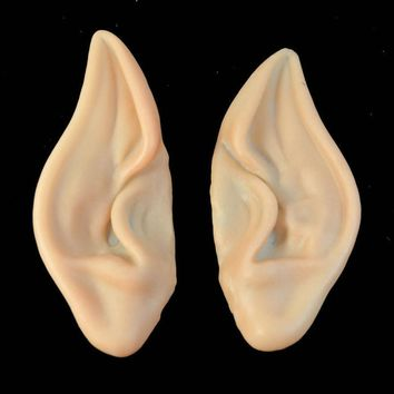 JECKSION Embouts Pointed Fairy Elf Cosplay Costume Ear Tips  Spock