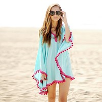 Hippie Tassel Beach Dress
