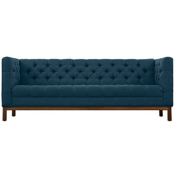 Panache Fabric Sofa Azure