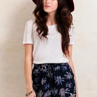 Midnight Oasis Printed Shorts