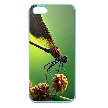 Dragonfly Apple Seamless iPhone 5 Case (Color)