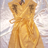 SWEET LORD O'MIGHTY! CROUCHING TIGER SILK DRESS