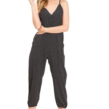 Etch Crop Jumpsuit