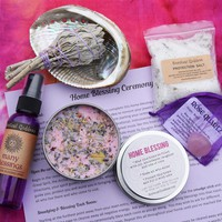 HOME BLESSING KIT - Clean up the energy in your home, start a new chapter - Great housewarming gift!