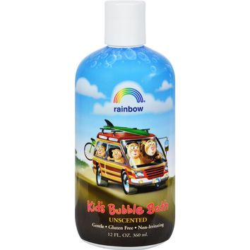 Organic Herbal Bubble Bath For Kids Unscented ( 2 - 12 FZ)